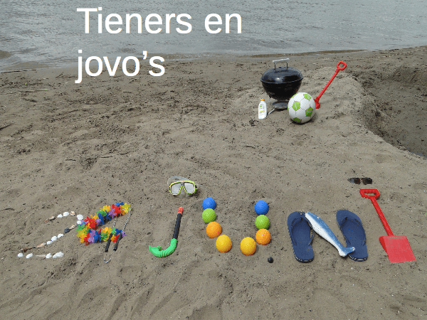 Tieners en jovo's naar het strand!!
