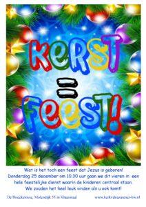 Kerstdienst uitnodiging 2014