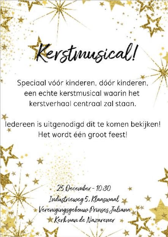 Kerstmusical 2018